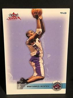 VINCE CARTER 2003-04 Fleer Focus Basketball PROMO Card #21 T